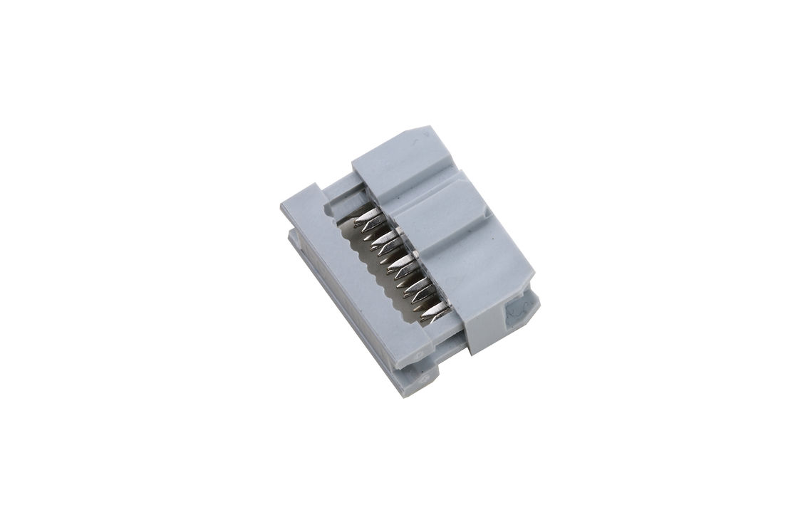 Female Insulation Displacement Connector , Dual Row 5 Pin Idc Connector