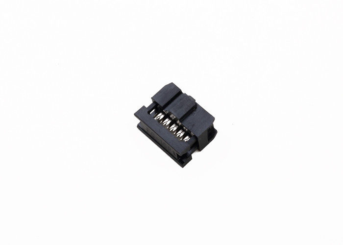 Female IDC Cable Connector 2.00 Mm Pitch Rectangular Type Free Hanging