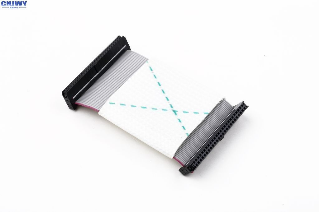 IDC Rectangular 20 Pin Flat Ribbon Cable , 2mm Pitch Shielded Flat Ribbon Cable