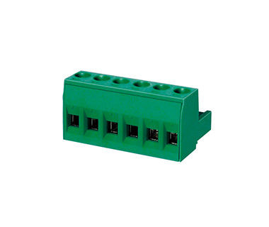 300V 18A Panel Mount Terminal Block , CPT 7.62mm Pitch Terminal Strip Connector