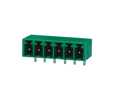 Screw Terminal Block Connector Pluggable Type PA66 SN Plated R/A Wafer AC 2000V