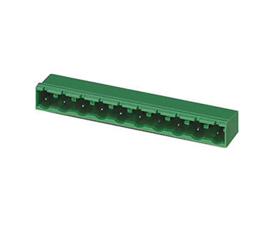 Plug In Terminal Block Connector CST 5.08mm Pitch Copper / Nickel Alloy Material